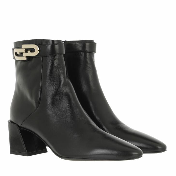 shoes, Furla, Furla Chain Ankle Boot T60