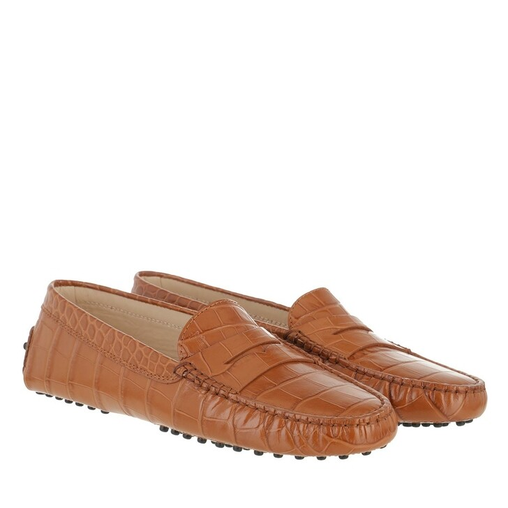 Schuh, Tod's, Penny Loafer Suede Brick