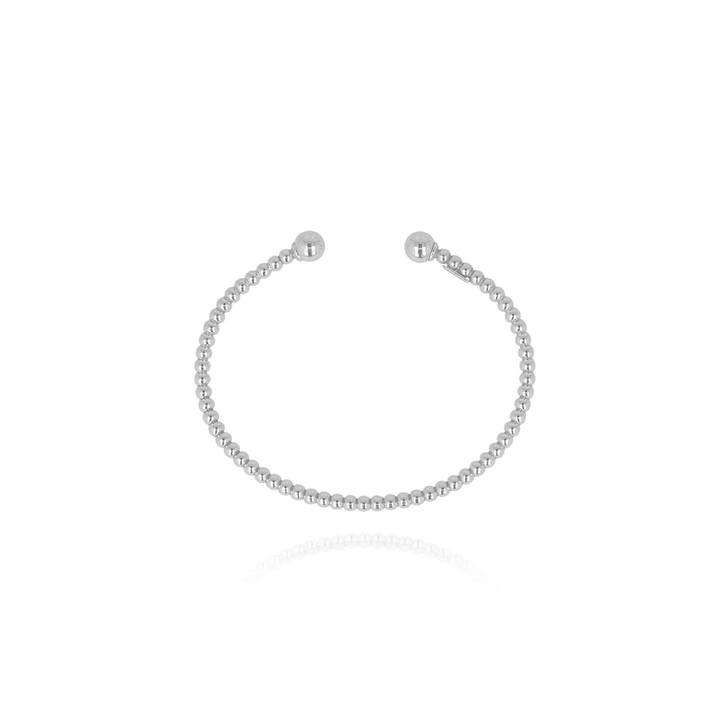 bracelets, LOTT.gioielli, Bracelet Cannonball Bangle Silver