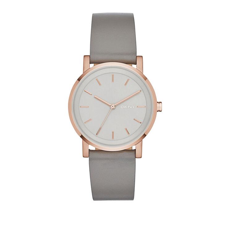 Uhr, DKNY, NY2341 Soho Round Watch Grey
