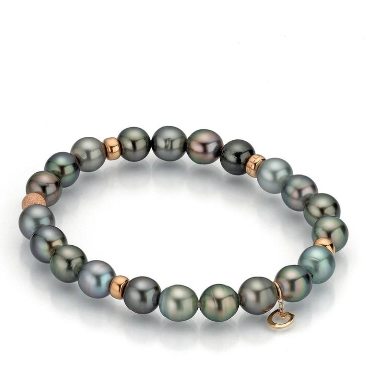 bracelets, Gellner Urban, Bracelet Power Tahiti Pearls Rose Intense