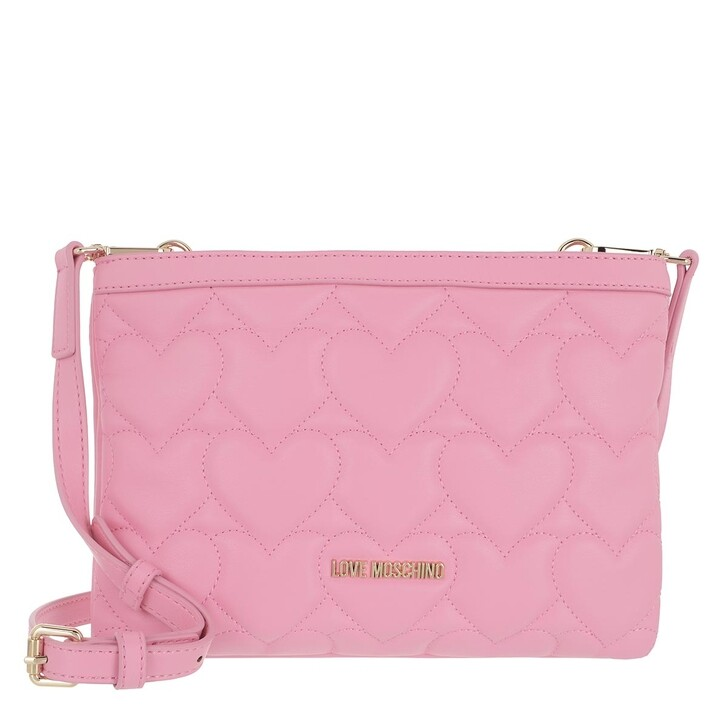 Handtasche, Love Moschino, Borsa Quilted Pu  Rosa