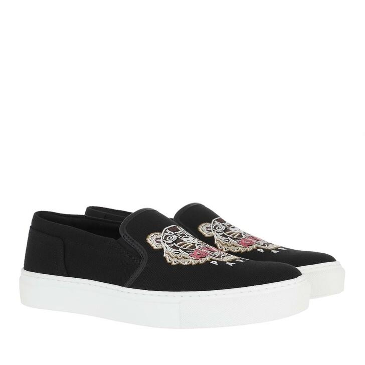 shoes, Kenzo, Slip-on sneaker Black