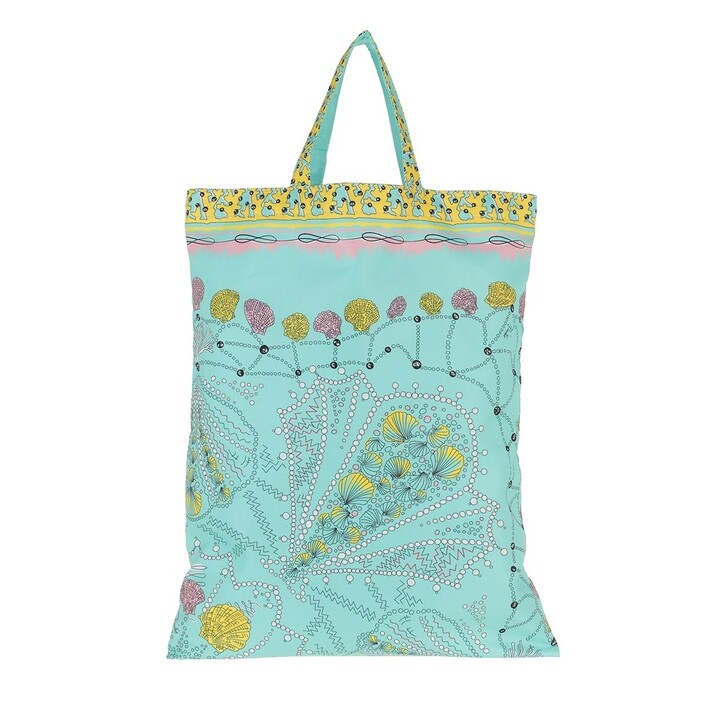 Handtasche, Emilio Pucci, Tote Bag Conchiglie 90X90 Turchese