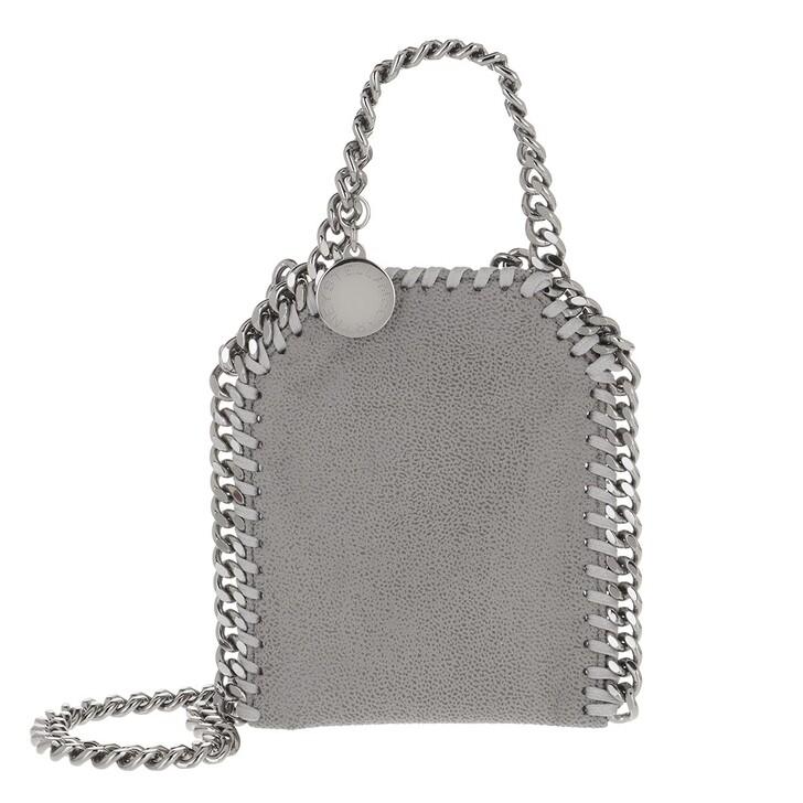 bags, Stella McCartney, Micro Bag Falabella Shaggy Dear Light Grey