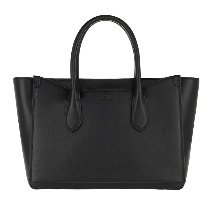 Handtasche, Polo Ralph Lauren, Large Sloan Satchel Bag Black