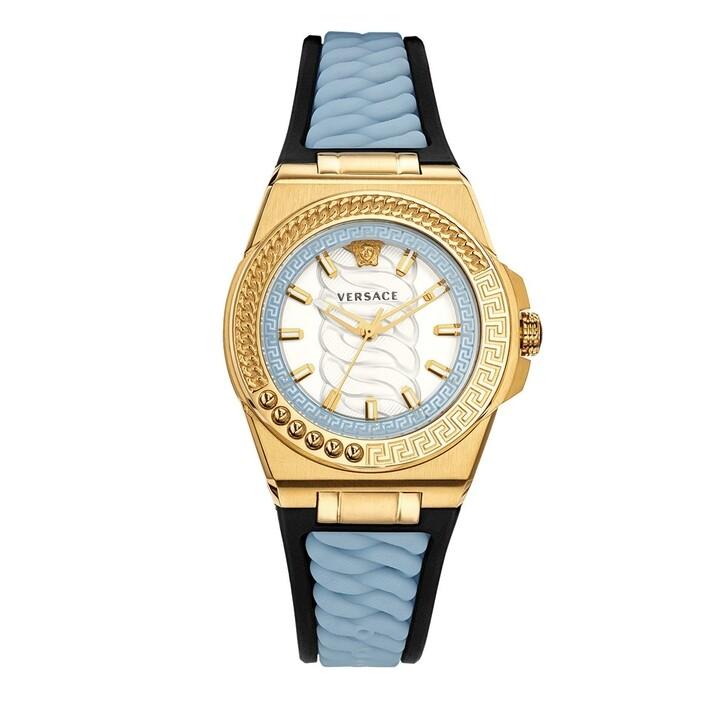 Uhr, Versace, Chain Reaction Watch Blue