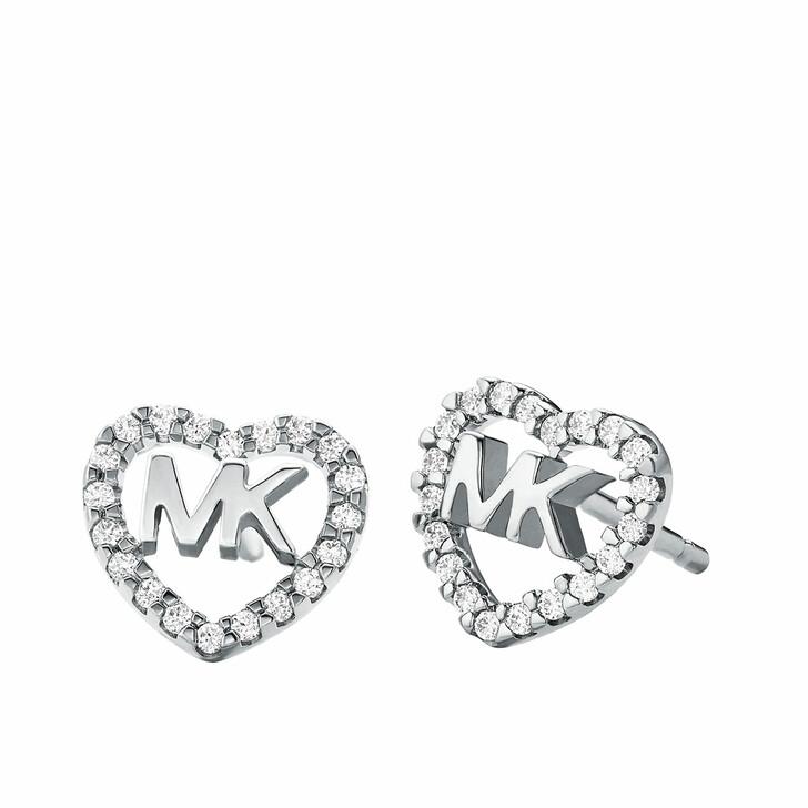 earrings, Michael Kors, MKC1243AN040 Hearts Earrings Silver