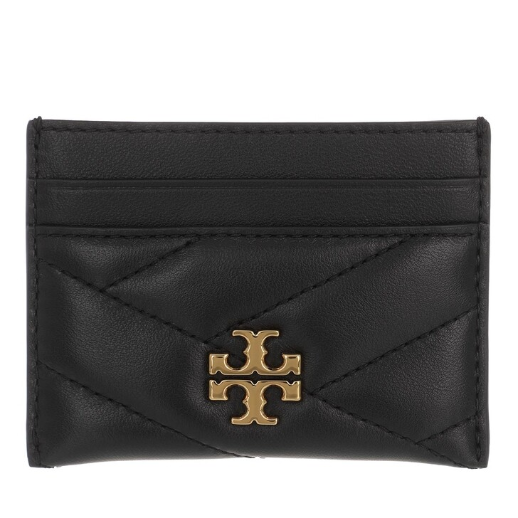 Geldbörse, Tory Burch, Kira Chevron Card Case Black