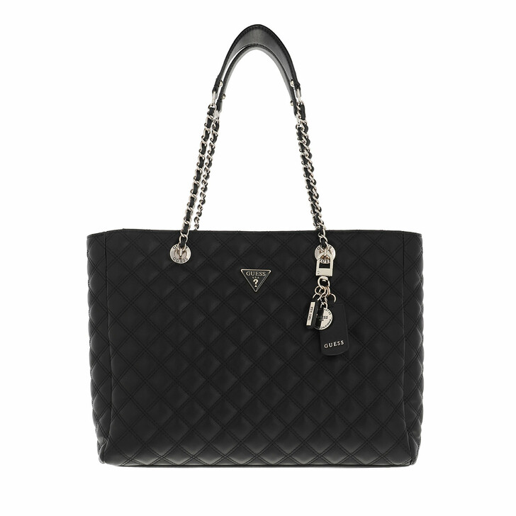 bags, Guess, Cessily Tote Black
