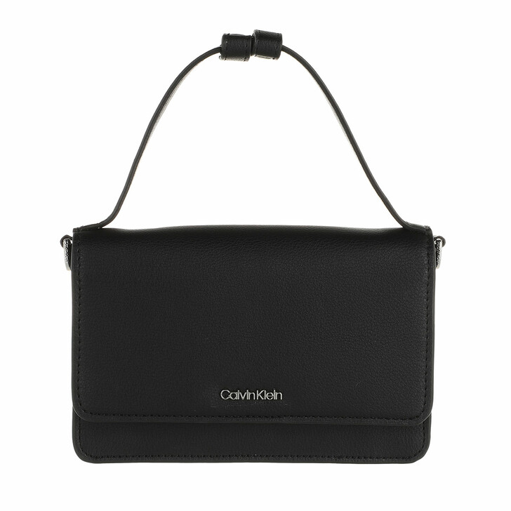 wallets, Calvin Klein, CK Must Flap Mini Bag With Wallet CK Black