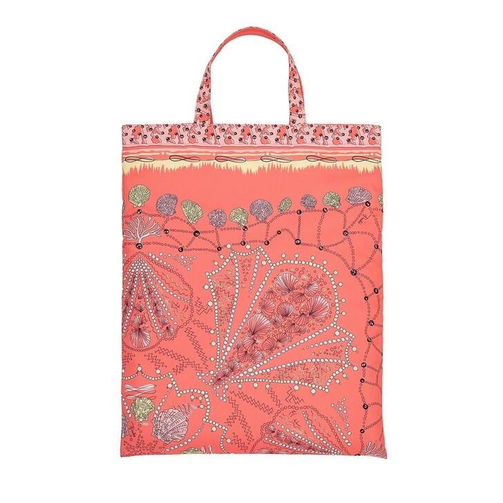 Handtasche, Emilio Pucci, Tote Bag Conchiglie 90X90 Corallo