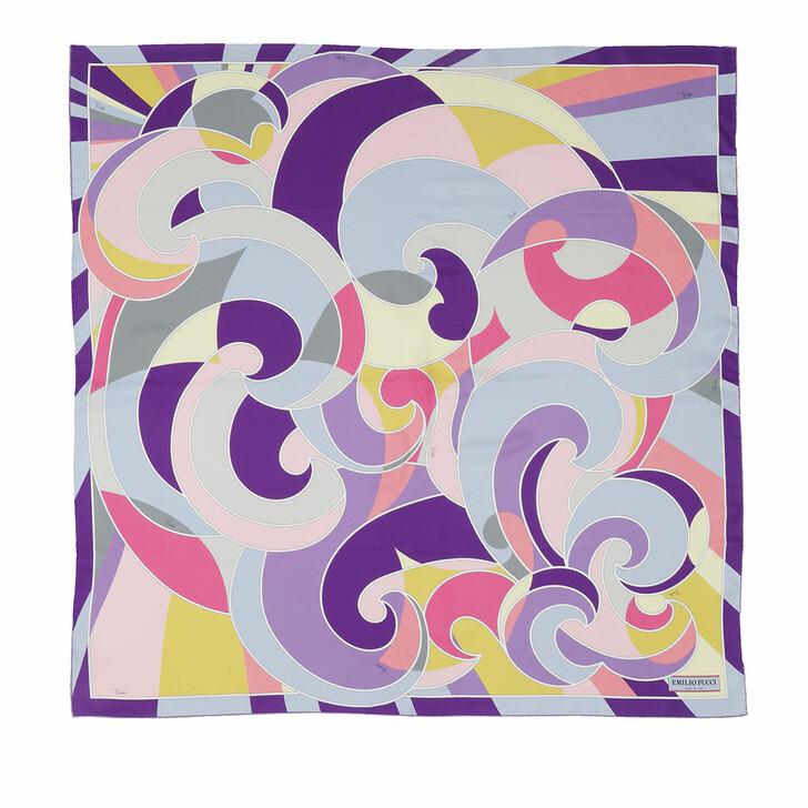 scarves, Emilio Pucci, Scarf Quirimbas 90X90 Viola/Geranio