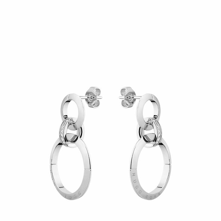 earrings, Boss, Earrings Silver