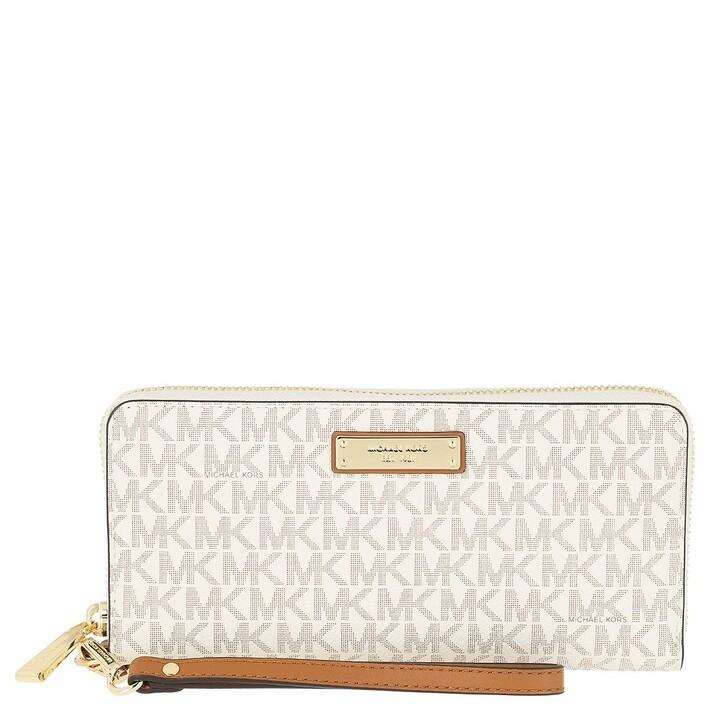wallets, MICHAEL Michael Kors, Travel  Vanilla