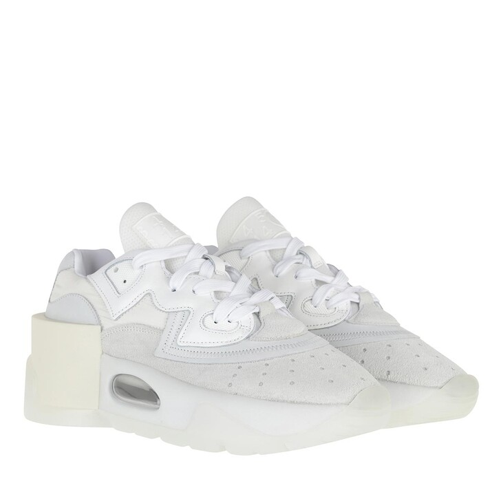 Schuh, MM6 Maison Margiela, Sneakers Suede  White