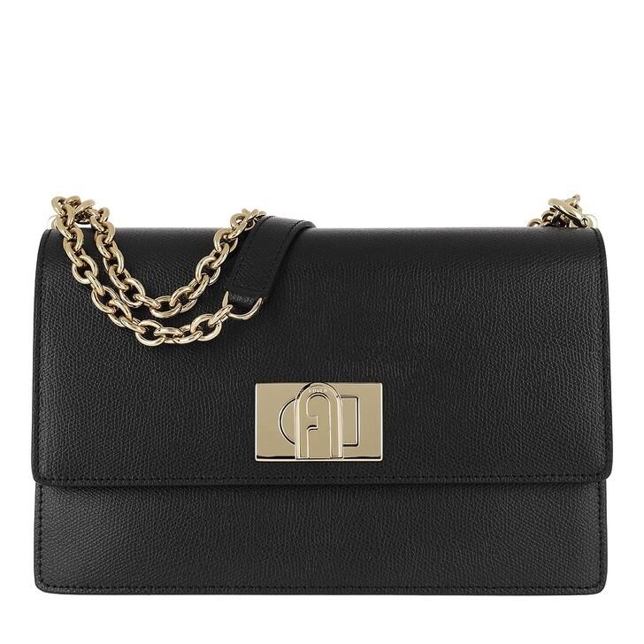 Handtasche, Furla, 1927 Small Crossbody Bag Black