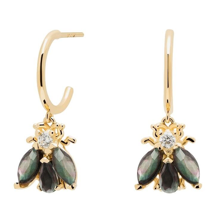 Ohrring, PDPAOLA, Earrings ZAZA Yellow Gold