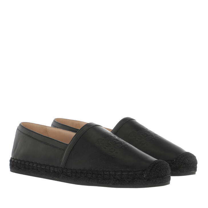 Schuh, Coach, Charlie Leather Espadrille Black