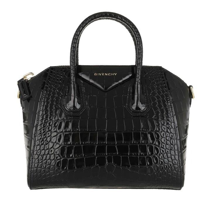 Handtasche, Givenchy, Antigona Small Leather Black