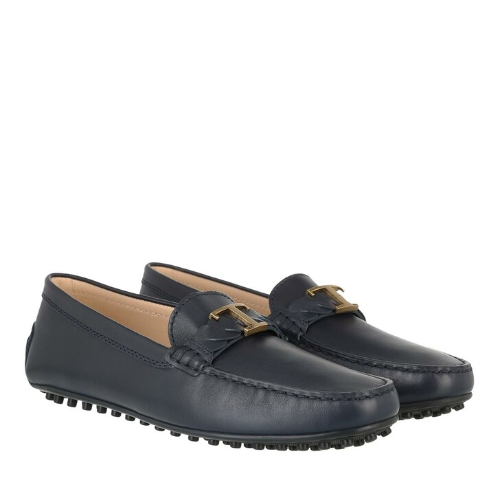 shoes, Tod's, Gommino Loafers Leather Dark Galaxy