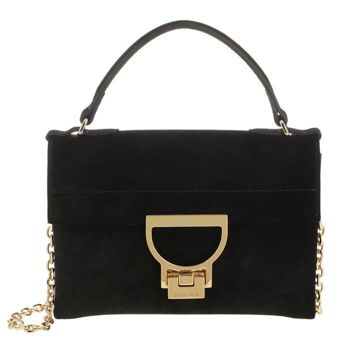 bags, Coccinelle, Mignon Crossbody Leather  Noir