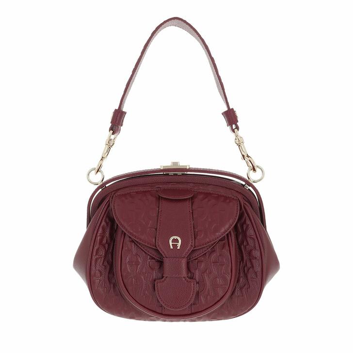 bags, AIGNER, Calla Crossbody Bag Burgundy