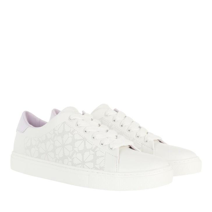 Schuh, Kate Spade New York, Audrey Sneaker  Optic White / Lilac