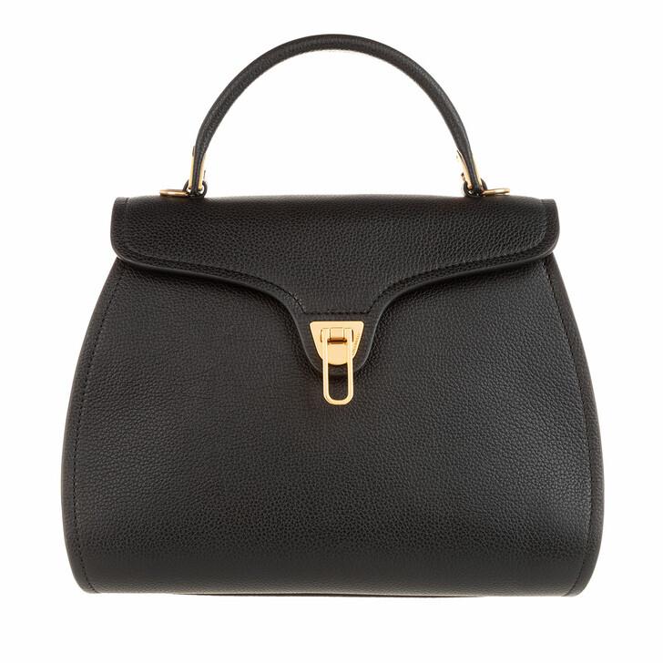 Handtasche, Coccinelle, Marvin Satchel Bag Noir
