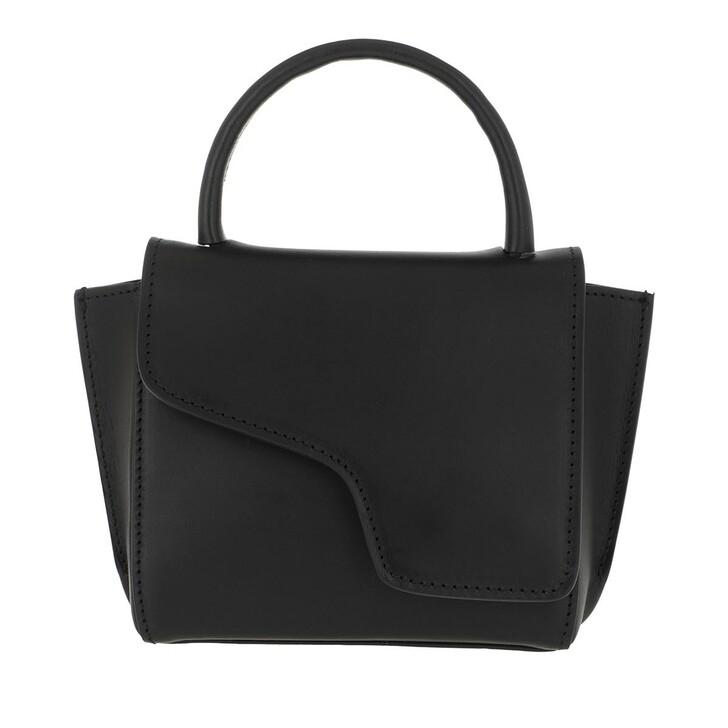 Handtasche, ATP Atelier, Mini Tote Bag Black