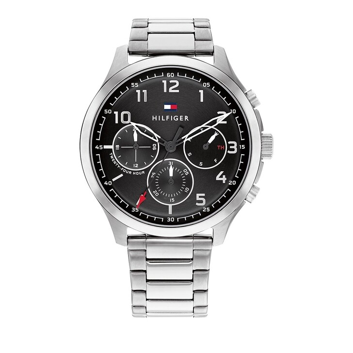 Uhr, Tommy Hilfiger, Multifunctional Watch Silver