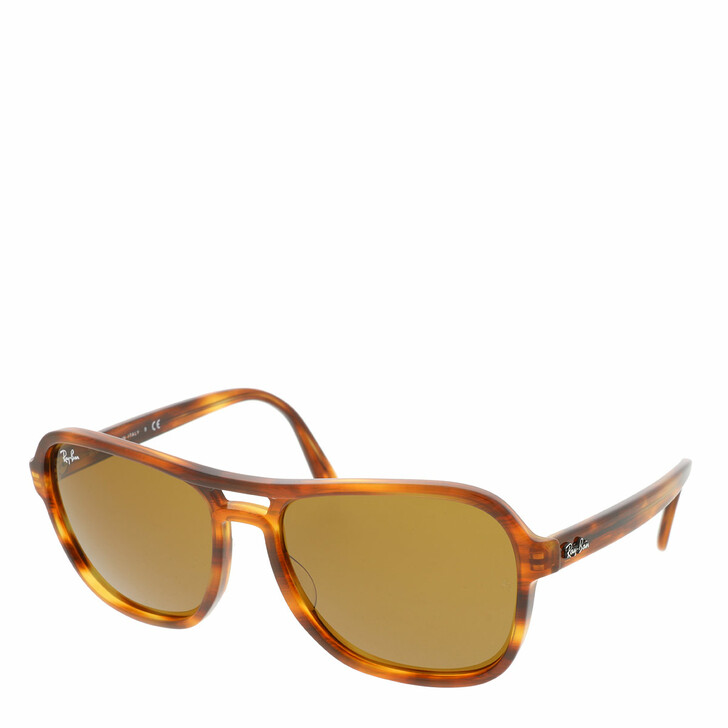 sunglasses, Ray-Ban, 0RB4356 Striped Havana