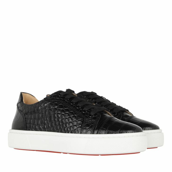 Schuh, Christian Louboutin, Vieirissima Sneaker Leather Black