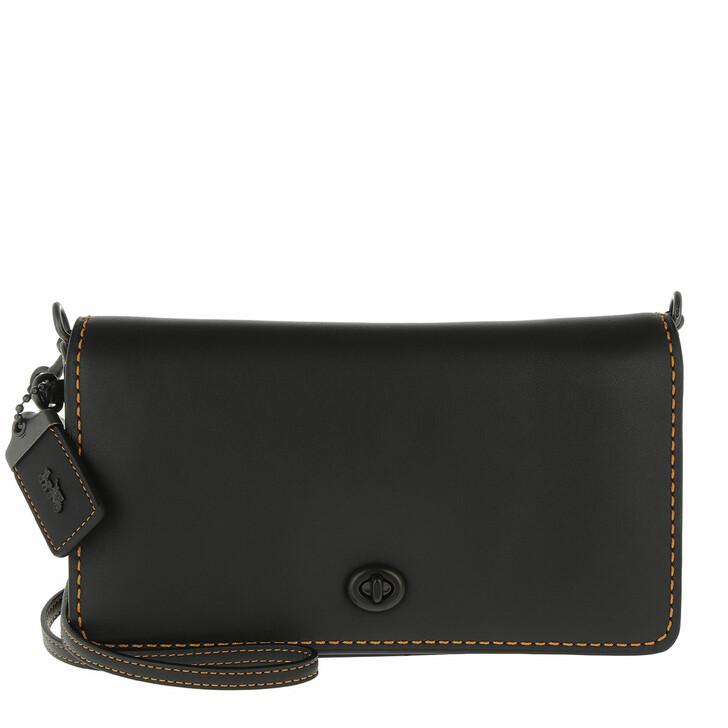 Handtasche, Coach, Dinky Crossbody Bag Black Honey