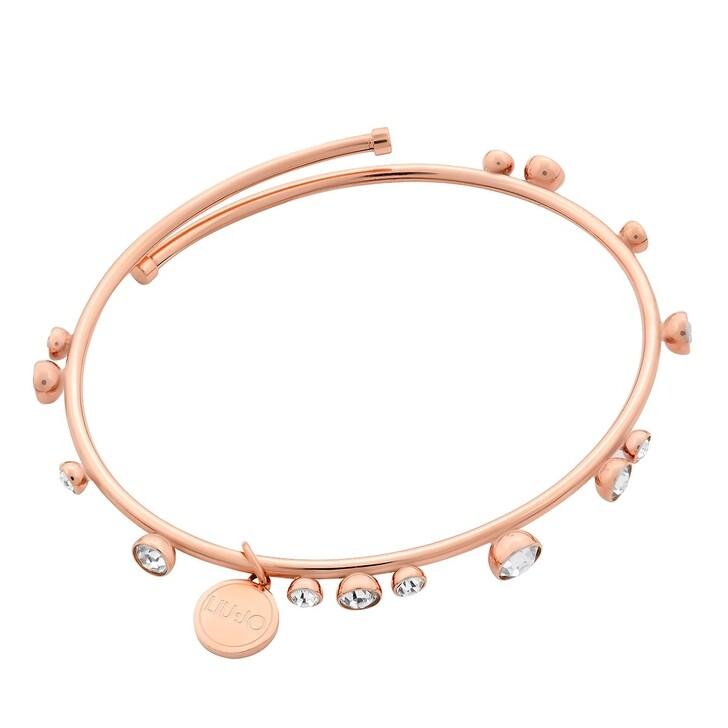 Armreif, LIU JO, Jewel Collection Bracelet  Rose Gold
