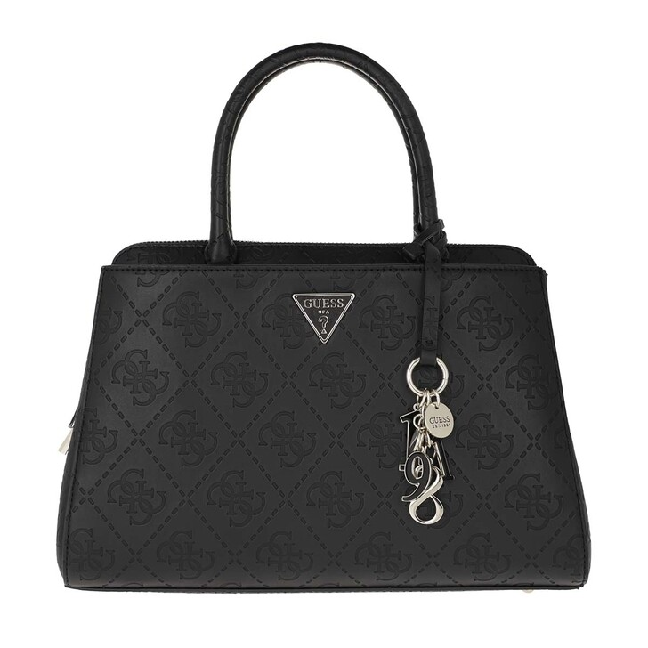 Handtasche, Guess, Maddy Girlfriend Satchel Black
