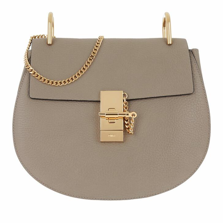 Handtasche, Chloé, Drew Crossbody Bag Motty Grey