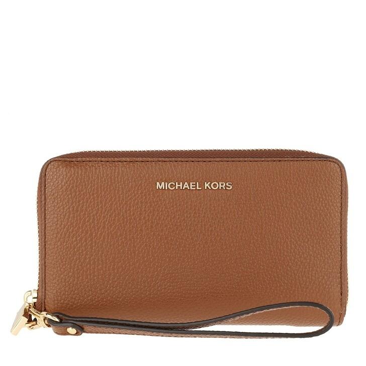 Geldbörse, MICHAEL Michael Kors, Large Flat Mf Phn  Luggage