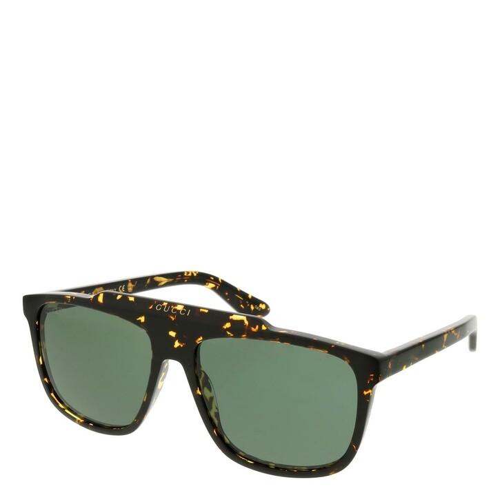 sunglasses, Gucci, GG1039S-002 58 Sunglass Man Acetate Havana-Havana-Green