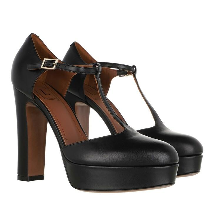 Schuh, L´Autre Chose, D'Orsay Pumps Lamb Leather Black