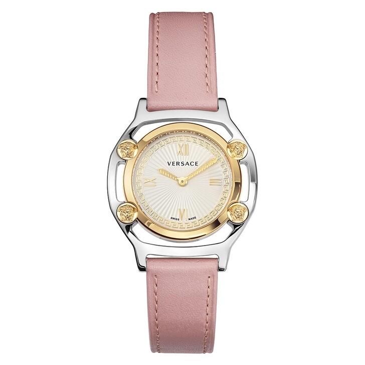 Uhr, Versace, Medusa Frame Watch Pink