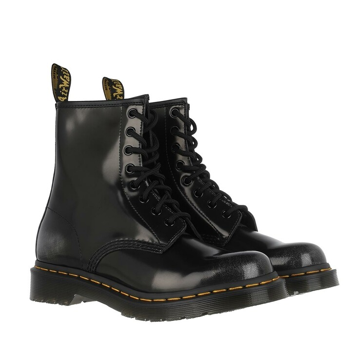 Schuh, Dr. Martens, 1460 Arcadia Boot Leather Silver
