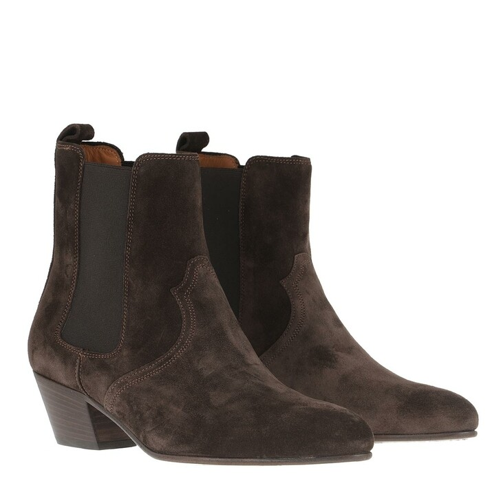 Schuh, Closed, Anise Boots Dark Brown