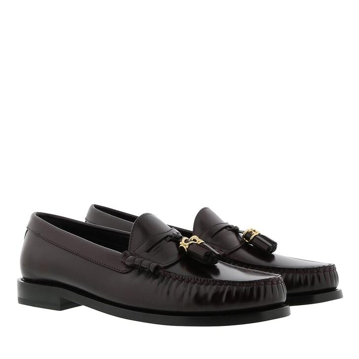 Schuh, Celine, Luco Loafer Calfskin Dark Burgundy