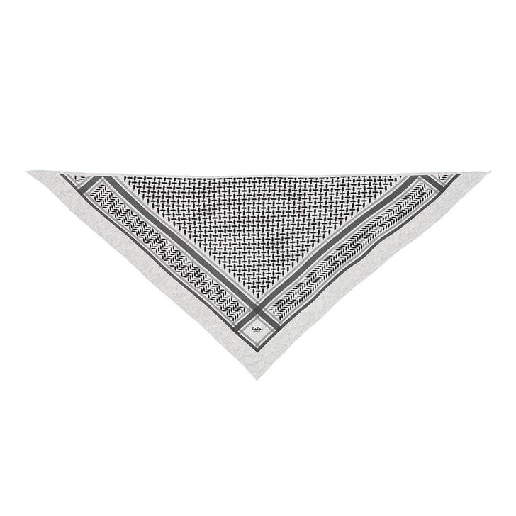 Schal, Lala Berlin, Triangle Trinity Classic M Flanella/Lightgrey Melange