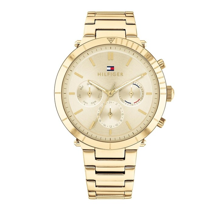 Uhr, Tommy Hilfiger, multifunctional watch Gold