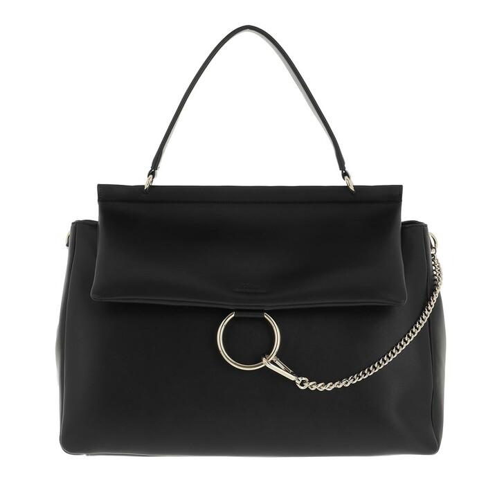 bags, Chloé, Large Faye Soft Day Bag Black
