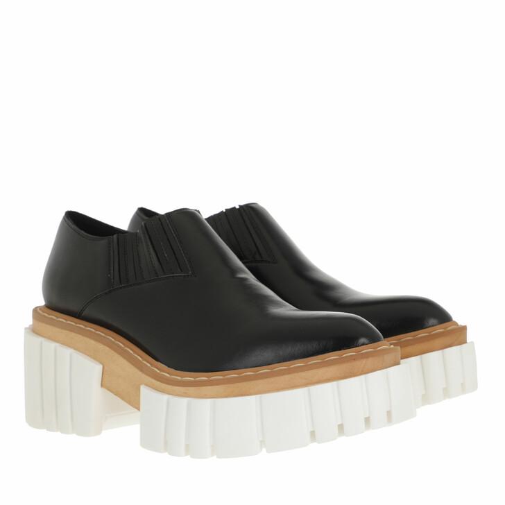 shoes, Stella McCartney, Emilie Lace-Up Shoes Black