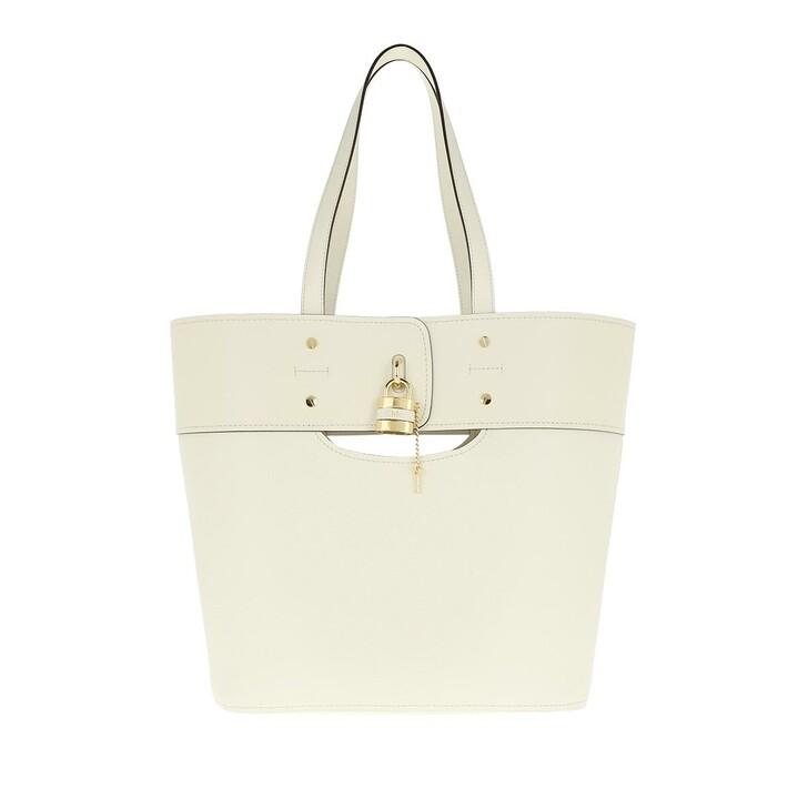 Handtasche, Chloé, Tote Bag Natural White