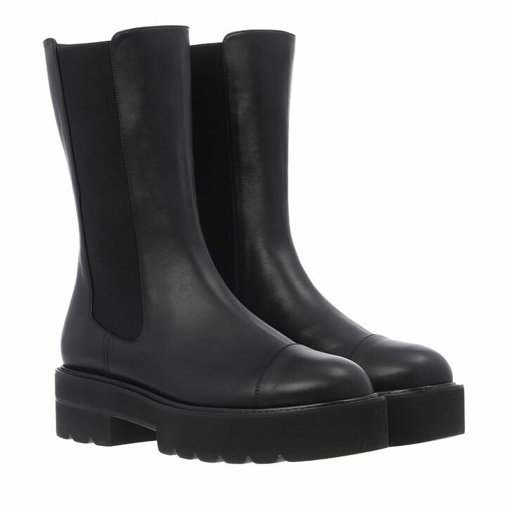 shoes, Stuart Weitzman, Presley Ultlif Boti Black